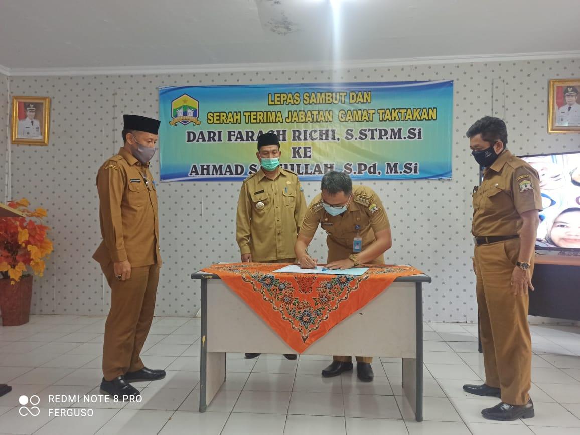 Sertijab Camat Taktakan